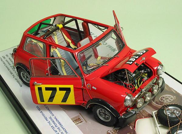 すべてのモデル 1/24 モーリス ミニクーパー 1275s ラリー : greendragon.car.coocan.jp